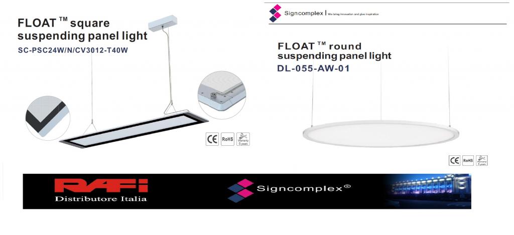 Signcomplex produttore di prima categoria nel mondo dell for Mondo convenienza illuminazione
